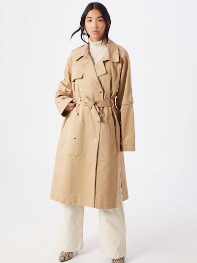DIESEL Mantel 'G-ACIR-' in beige, Modelansicht