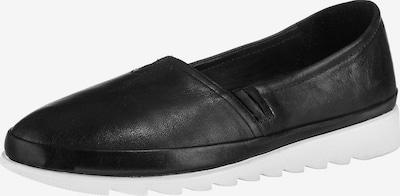 Paul Vesterbro Leder Espadrilles in schwarz / weiß, Produktansicht