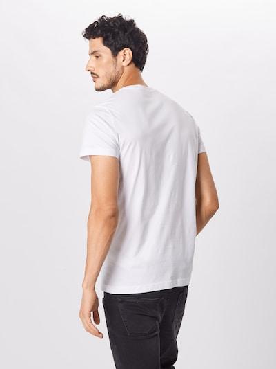 Marškinėliai 'DIEGO' iš DIESEL , spalva - juoda / balta: Vaizdas iš galinės pusės