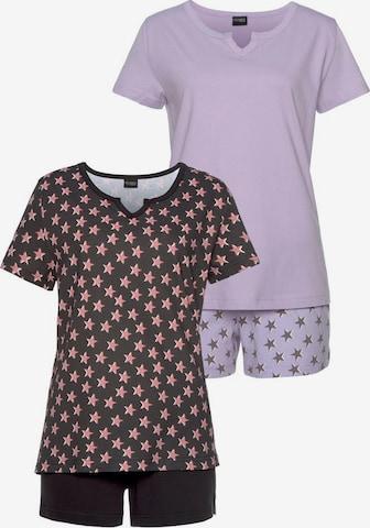 VIVANCE Short Pajama Set in Mixed colors