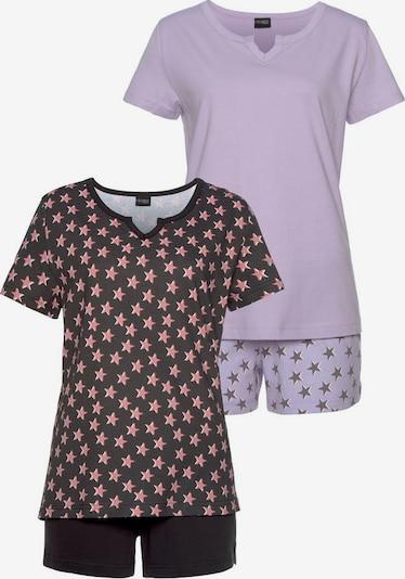 VIVANCE Shorty en lilas / rose clair / noir, Vue avec produit