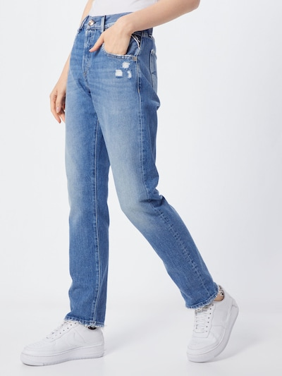 REPLAY Jeans 'Roxel Hose' in de kleur Blauw, Modelweergave