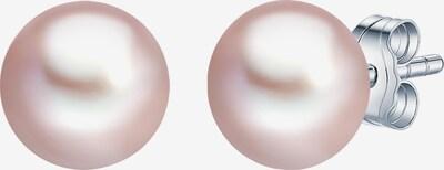 Valero Pearls Perlenohrstecker mit Süßwasser-Zuchtperle in rosé / silber, Produktansicht