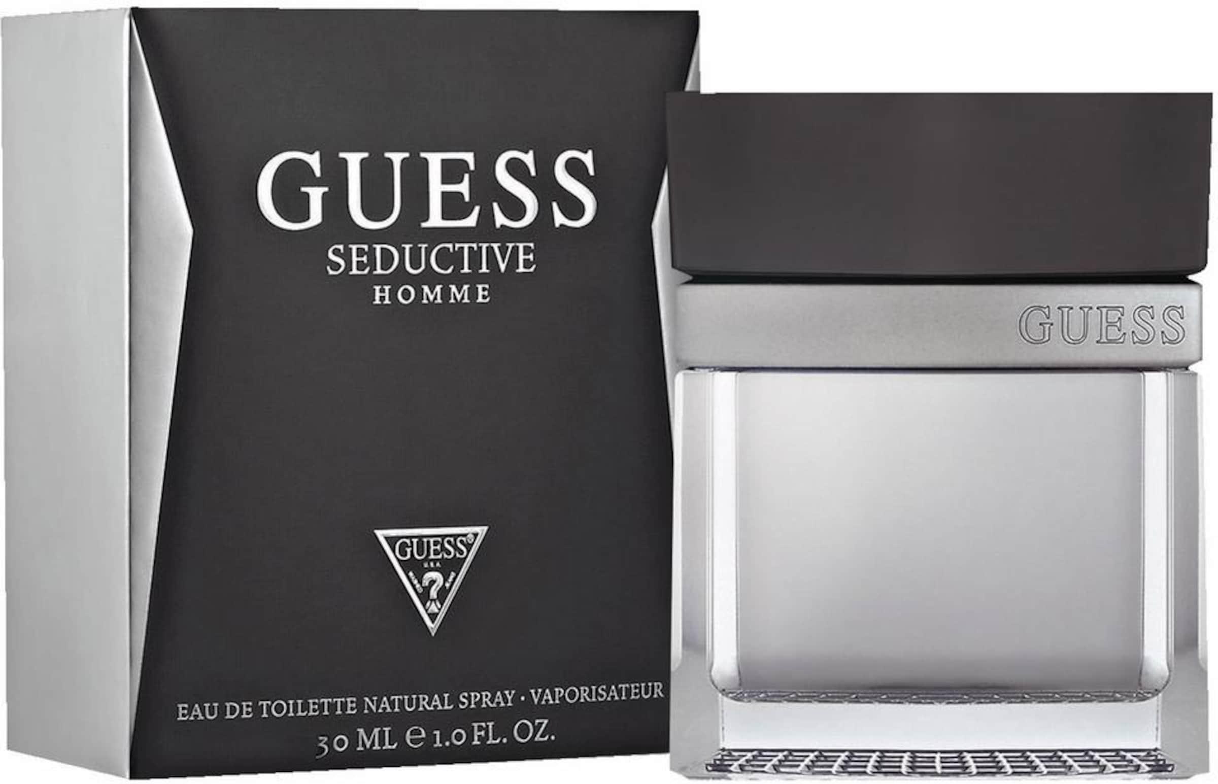 Steckdose Modische GUESS 'Seductive Homme' Eau de Toilette Verkauf Zahlung Mit Visa Günstiger Preis Vorbestellung Rijn935