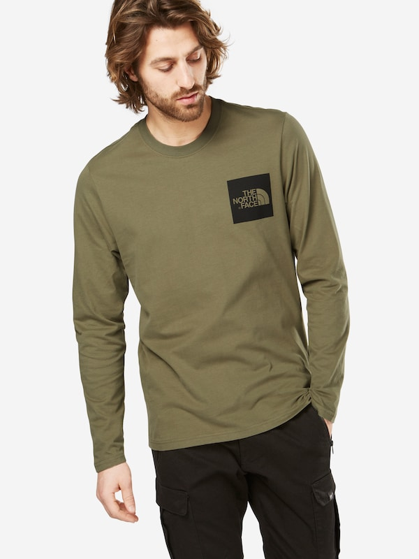 THE NORTH FACE Langarmshirt 'M L/S FINE TEE'