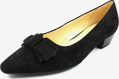 GABOR Ballerinas in schwarz: Frontalansicht