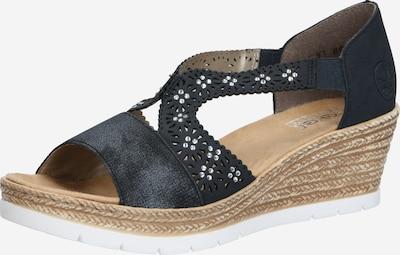 Sandale RIEKER pe albastru închis, Vizualizare produs