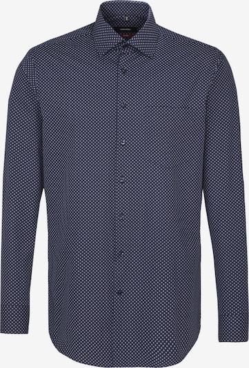 SEIDENSTICKER Hemd 'Modern' in navy / grau, Produktansicht
