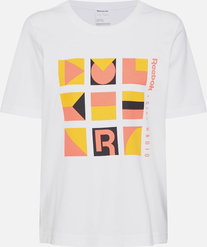 T Reebok En OrangeBlanc Tshirt' 'gigi Classic shirt TOPiXZkwu