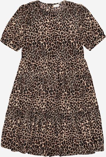 NAME IT Kleid 'NKFFIONY' in beige / braun / schwarz, Produktansicht