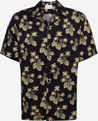 THE KOOPLES SPORT Hemd 'CHEMISE' in gelb / schwarz, Produktansicht
