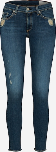 rag & bone Jeans 'Skinny' in blue denim, Produktansicht