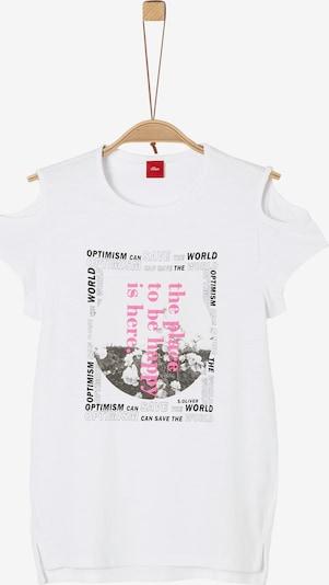 s.Oliver T-Shirt in weiß, Produktansicht