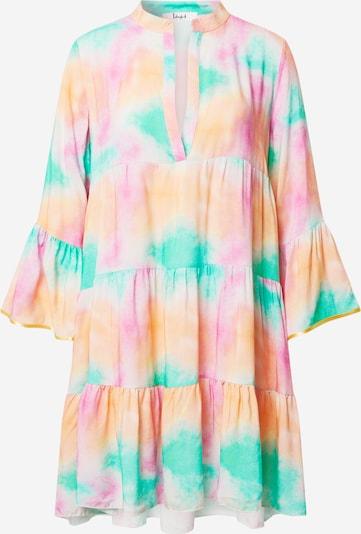 Liebesglück Letní šaty - tyrkysová / lososová / pink, Produkt
