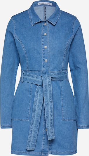 GLAMOROUS Kleid 'Dress' in blue denim, Produktansicht