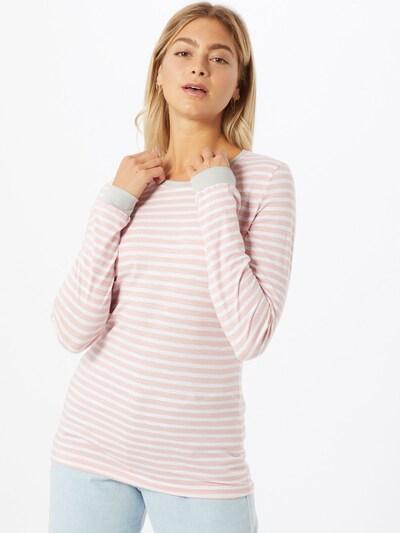 Eight2Nine Koszulka w kolorze różowy pudrowy / białym: Widok z przodu