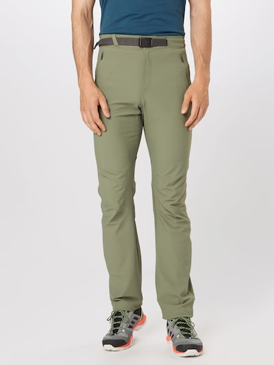 COLUMBIA Športové nohavice 'Passo Alto™ II Pant' - zelená: Pohľad spredu