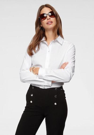 BRUNO BANANI Bluse in weiß, Modelansicht
