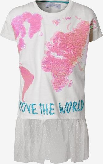 Desigual T-Shirt in blau / rosa / weiß, Produktansicht