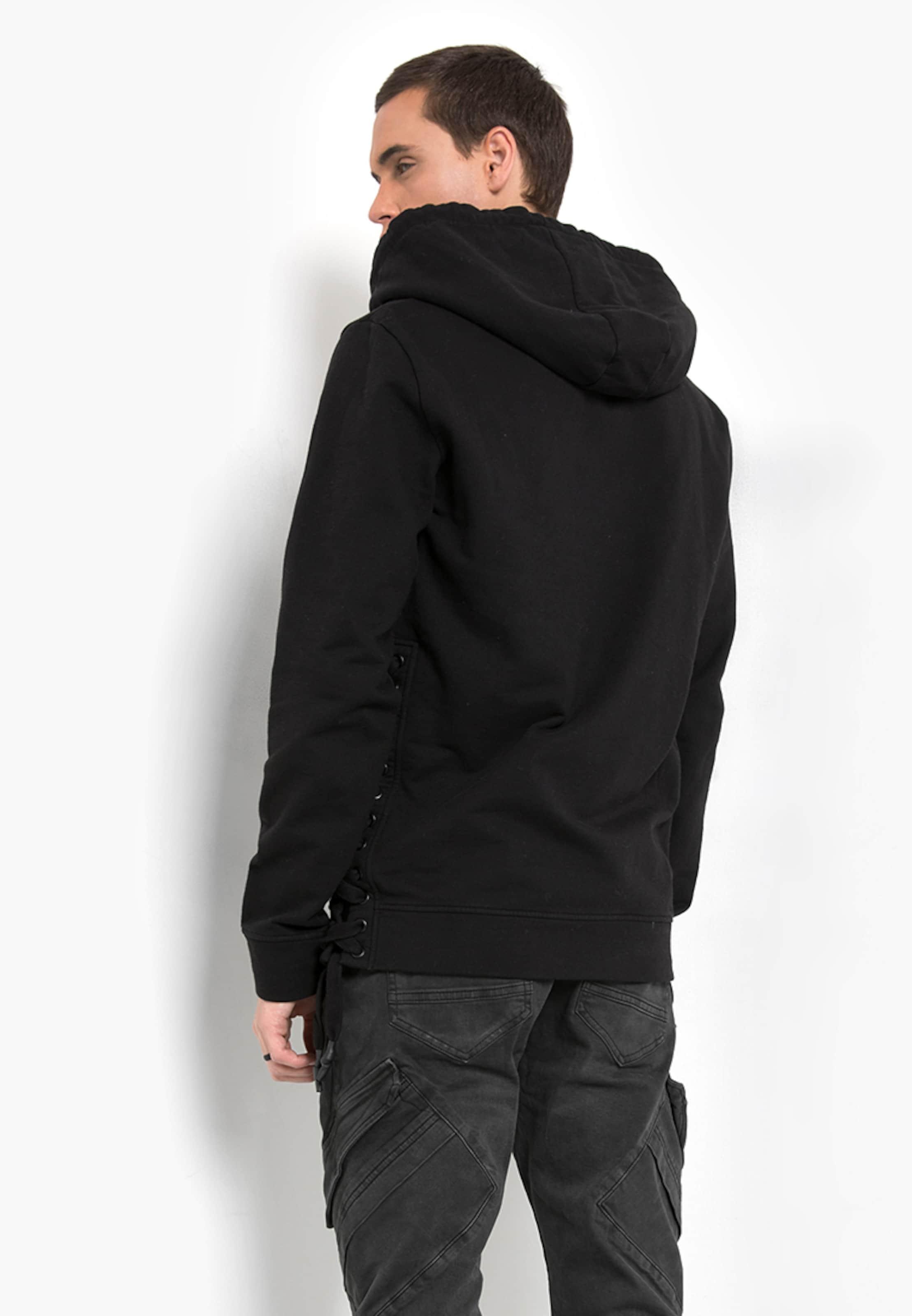 tigha Hoodie mit Schnürdetails ' Winsten ' Mode-Stil Online Neueste Preiswerte Online iWfuiGtLlP