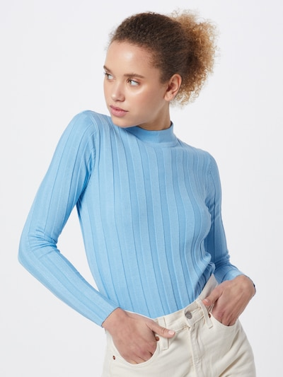 SISTERS POINT Pullover 'Hotti-T1' in blau, Modelansicht