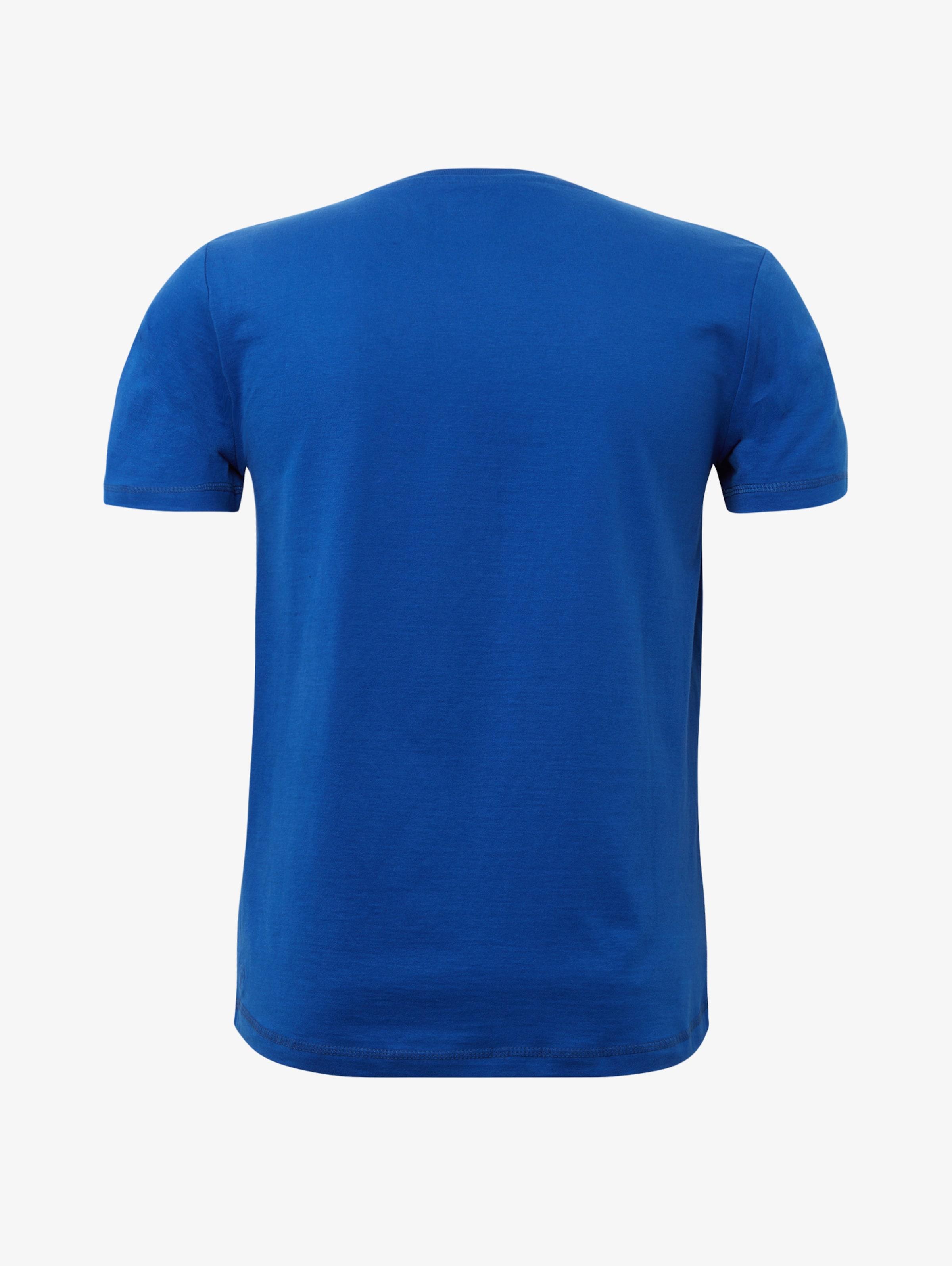 shirt Denim Tom T Schwarz Tailor In BlauHellrot mn0wOvN8