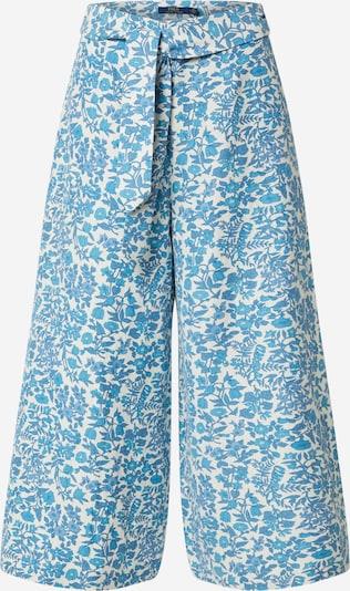 POLO RALPH LAUREN Kalhoty 'KLY PT-WIDE LEG-PANT' - modrá / bílá, Produkt