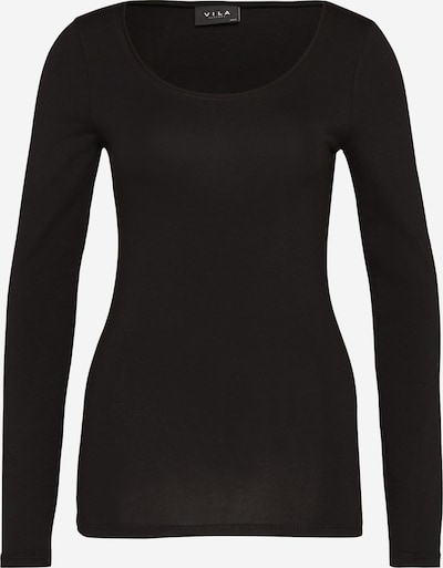 VILA Shirt 'VIOFFICIEL' in de kleur Zwart, Productweergave
