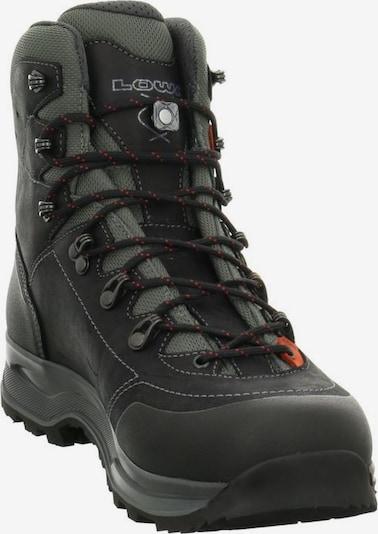 LOWA Boots in Donkergrijs / Rood / Zwart AlTXRi51
