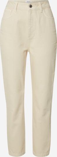 EDITED Jeans 'Mirea' in beige / weiß, Produktansicht