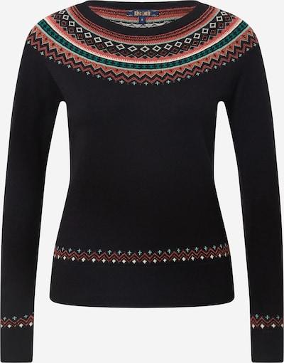 King Louie Sweatshirt in jade / altrosa / schwarz / weiß, Produktansicht