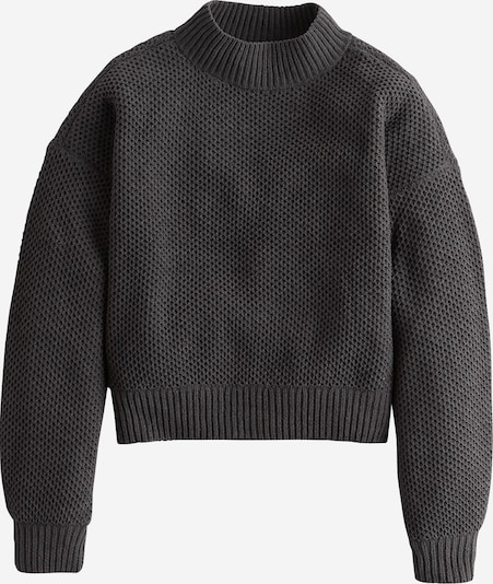 HOLLISTER Pullover 'XM19-MATTE CHENILLE HNYCMB MOCK 5CC' in grau, Produktansicht