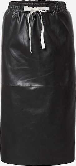Designers Remix Rock 'Mari Midi Skirt' in schwarz, Produktansicht