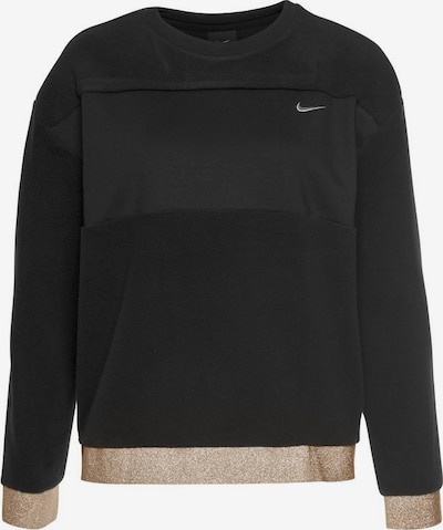 NIKE Bluzka sportowa 'CLSH THEM FLC' w kolorze złoty / czarnym, Podgląd produktu
