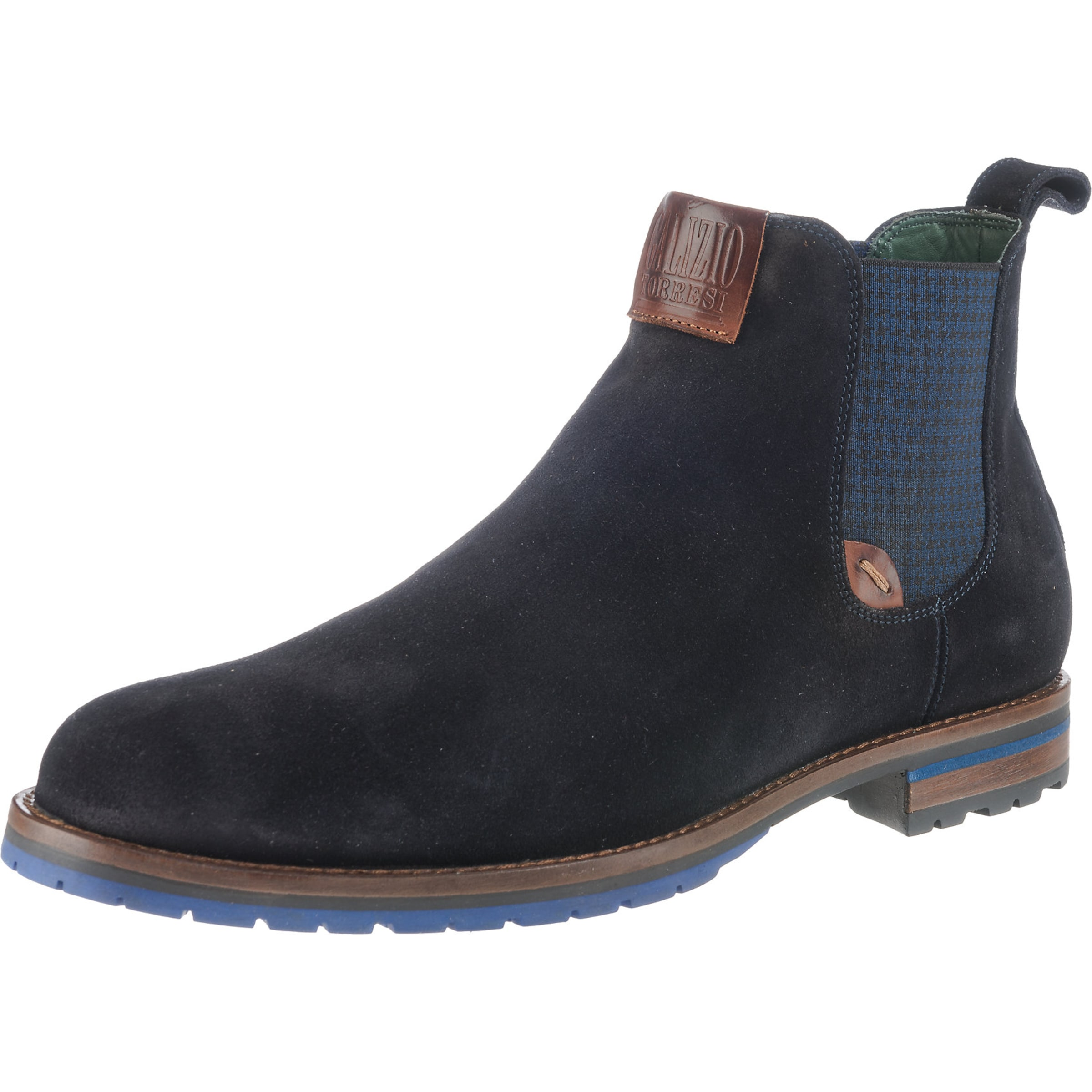Torresi Boots Chelsea Galizio In NachtblauBraun thQBsdCorx