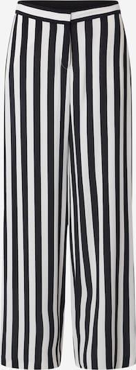 Pantaloni Esprit Collection pe negru / offwhite, Vizualizare produs