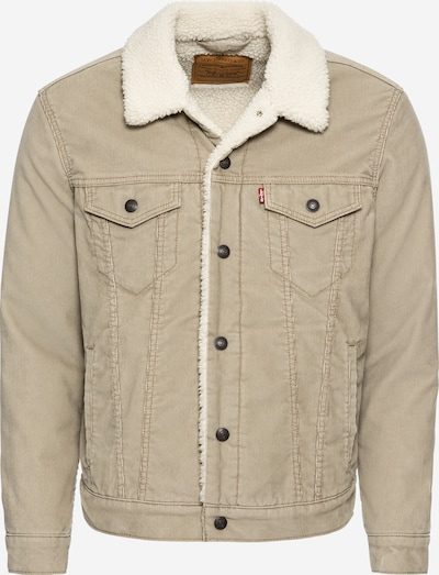 LEVI'S Between-season jacket 'TYPE 3 SHERPA TRUCKER' in dark beige, Item view