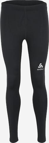 ODLO Sporthose in Schwarz