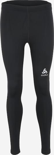 ODLO Tight 'CORE LIGHT' in schwarz / weiß, Produktansicht