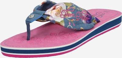 TOM TAILOR Sandały w kolorze atramentowy / mieszane kolorym, Podgląd produktu