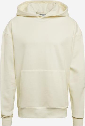 NU-IN Sweatshirt 'Layered Cuff Hoodie' in creme / offwhite, Produktansicht