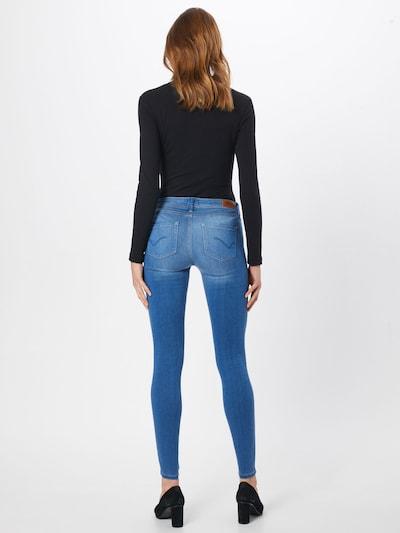 ONLY Jeans 'CARMEN' in blue denim: Rückansicht