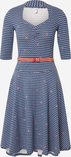 Blutsgeschwister Kleid 'suzie the snake dress' in blau, Produktansicht