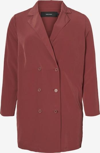 Vero Moda Curve Blazer en rouge foncé, Vue avec produit