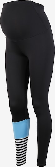 Hey Honey for EDITED Pantalon de sport 'Maternity Surf Style' en bleu / noir / blanc, Vue avec produit