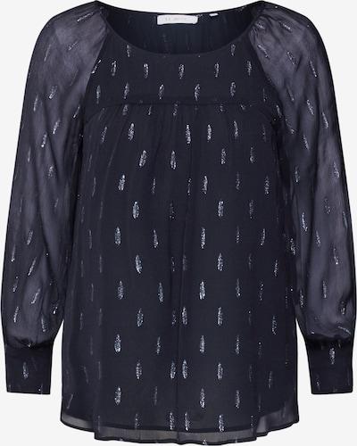 Rich & Royal Bluse 'Fil-Coupé' in schwarz, Produktansicht