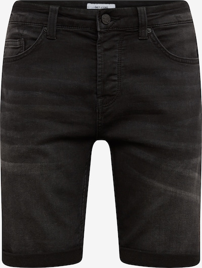 Only & Sons Shorts 'onsPLY' in black denim, Produktansicht