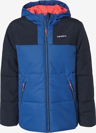 ICEPEAK Winterjacke 'Kaplan' in blau / schwarz, Produktansicht