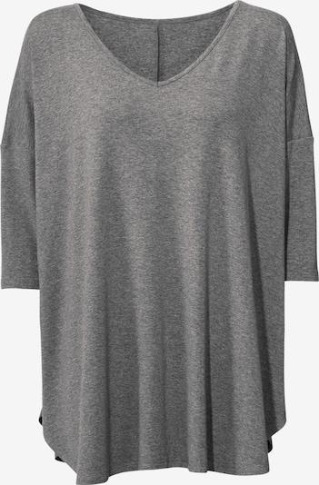 Linea Tesini by heine T-shirt oversize en gris chiné, Vue avec produit