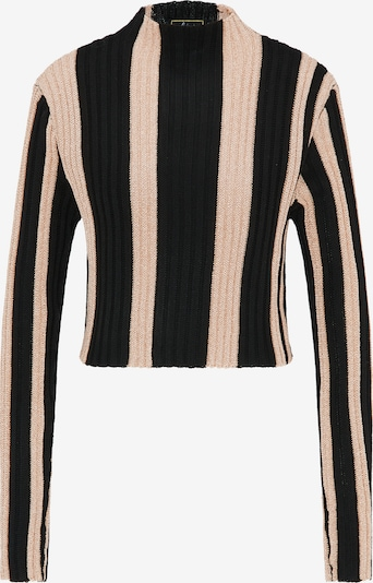 faina Trui in de kleur Beige / Zwart, Productweergave